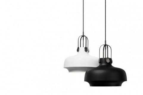 Lampa SC6 z kolekce Copenhagen (&Tradition), lakovaný kov, O 20 cm, výška 25 cm, cena 4 245 Kč, www.designville.cz